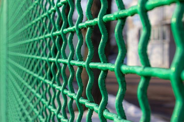 메쉬 그물 녹색 메쉬 울타리