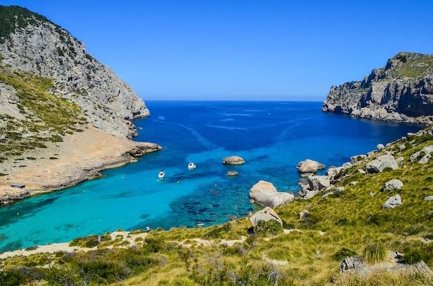 スペインの有名なフルマントール岬の魅惑的なショット