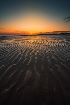 Mesmerizing seascape during sunset