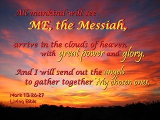 Messiah s coming