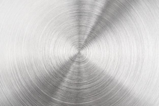 Metal aluminum circle texture surface background
