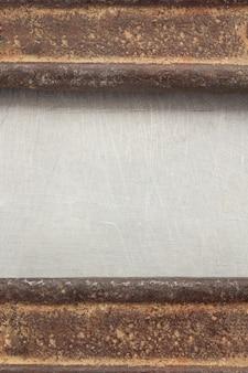 금속 배경 텍스처 오래 된 표면
