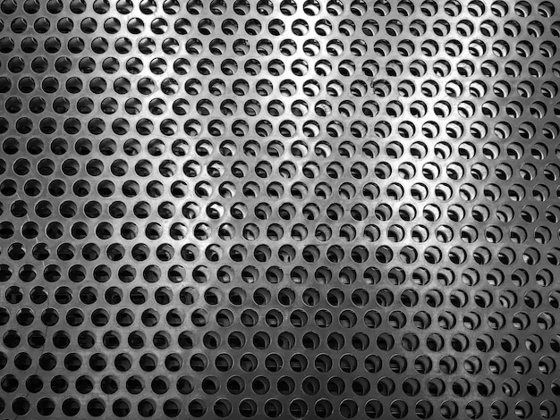 Metal background with mesh texture. abstract metallic pattern wallpaper.