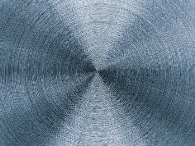 Metal background with round circular texture