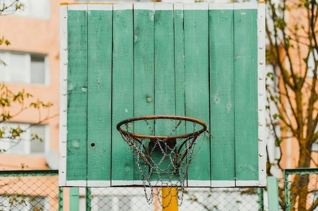 Металлический баскетбольный обруч
