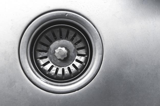 Металлическое сливное отверстие для ванны, ванная комната из нержавеющей стали или кухонная раковина