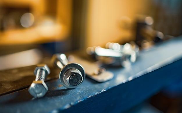 수동 유연한 대규모 기계의 금속 크롬 볼트 및 너트