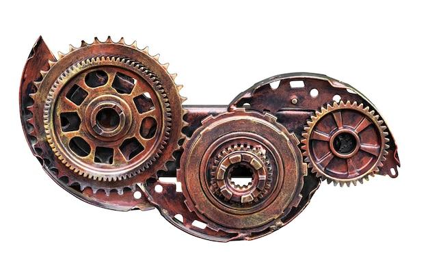 分離された産業材料用の金属歯車機