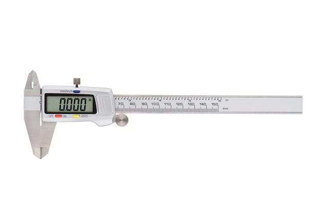 分離された精密サイズ測定用の金属製デジタルノギス