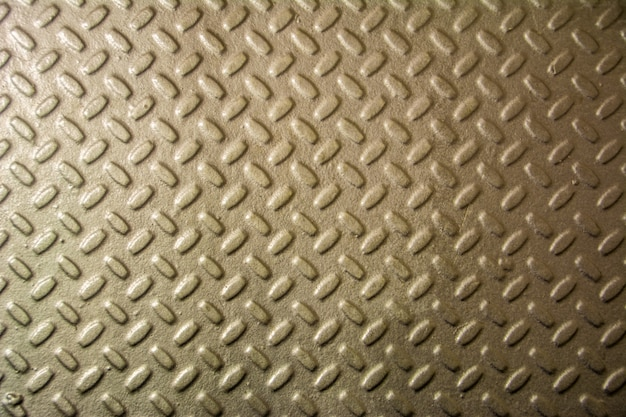 Metal floor plate with diamond pattern. steel plate metal texture background