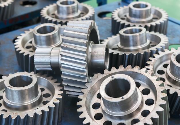 Metal gears in factories