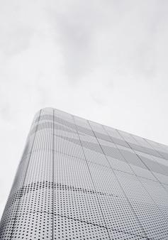 Metal geometric modern building