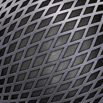 Premessa di fondo con un design metallico
