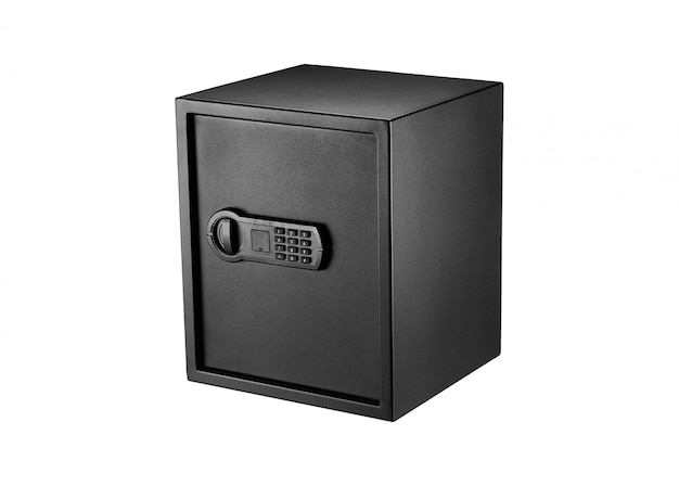 Металлический тяжелый сейф для наличных
