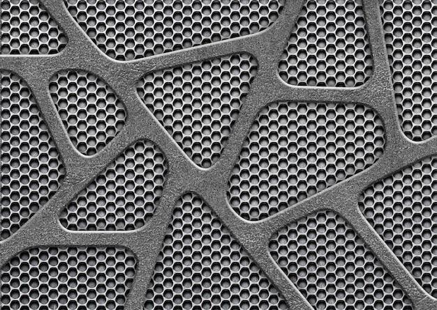 Metal mesh surface