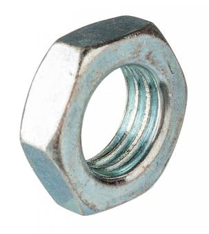 Metal nut isolated