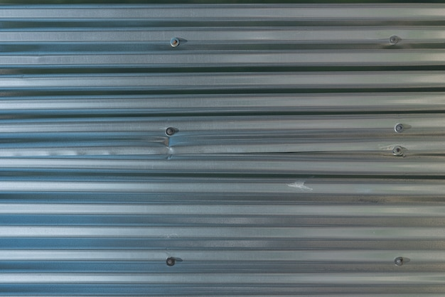 Metal panels wall background