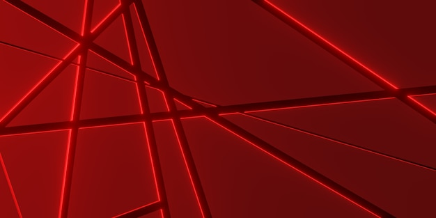 Metal plate background overlay layers and decorate lighting effects 3d illustration