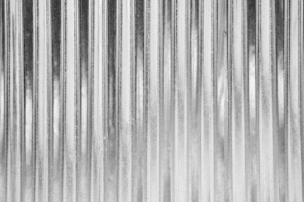 Metal sheet roof texture