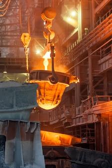 Metal smelting casting