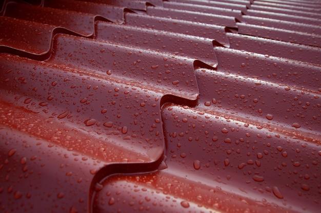 Металлическая кровельная система из испанской черепицы гофрированный металлический лист из окрашенной стали