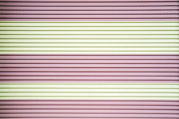 금속 강철 롤링 셔터 도어 핑크 화이트 색상