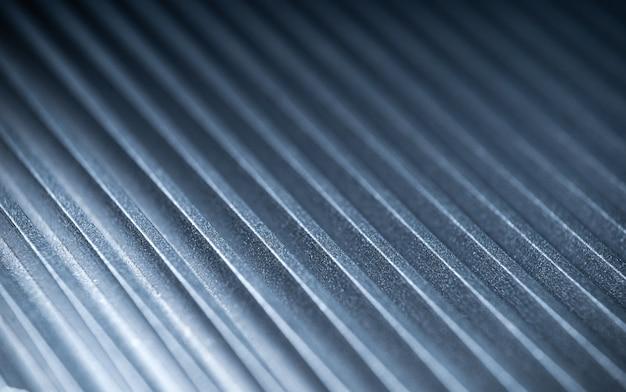 자동 제어 장치의 금속 표면