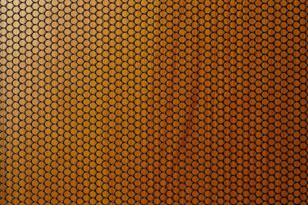 Металлическая текстура фон перфорированный металлический лист Premium Фотографии