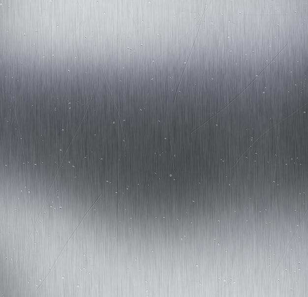 引っかき傷やくぼみのある金属テクスチャの背景