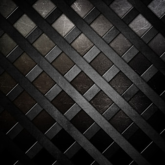 Metal texture with grid