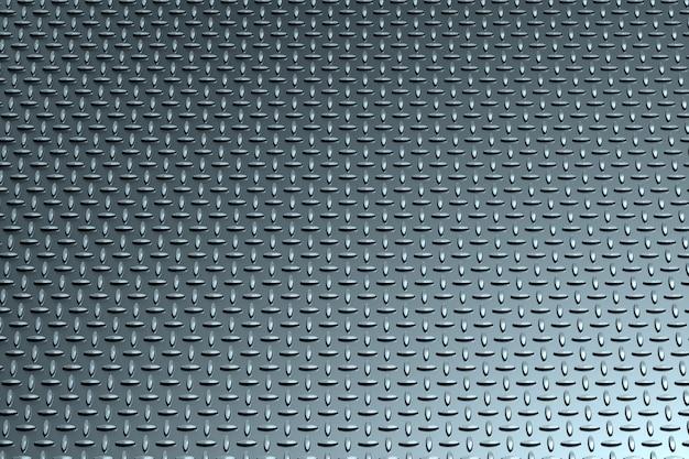 Metal texture with a pattern of rhombuses 3d illustration, 3d render.