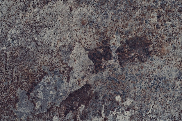 Metal texture with scratch and crack, rust wall