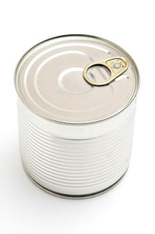 グリーンピースが分離された金属缶