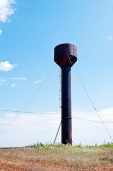 金属製給水塔