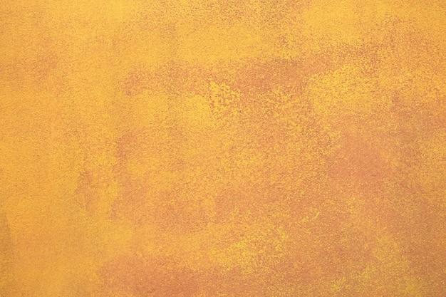 Металлический желтый железный ржавый грубый старый фон текстуры