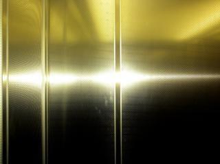 Metallic aluminium surface  metal