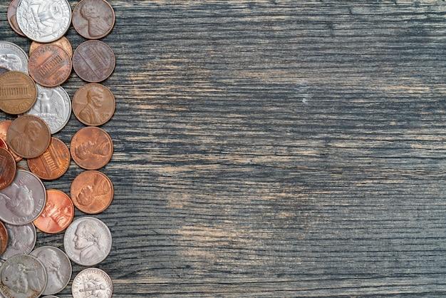Металлические американские центы. хранение и накопление денег в финансовой системе банков и ссуд.