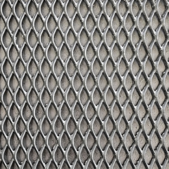 Metallic background fence in grey tones