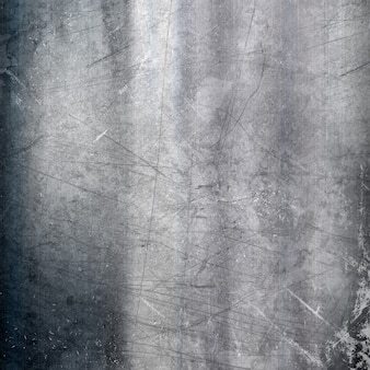 Metallic background with a grunge scratched effect