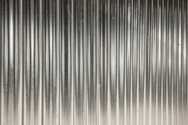 Metallic background with vertical silver lines