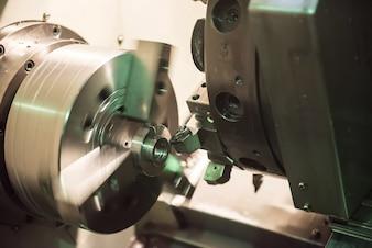 Metallic factory machine