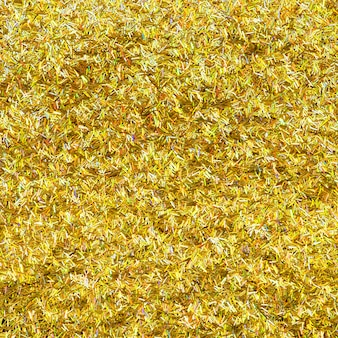 Metallic gold glitter background