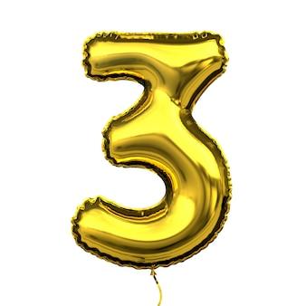 Металлический золотой воздушный шар с буквой цифра цифра номер