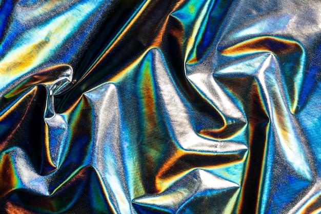 金属のホログラフィック背景