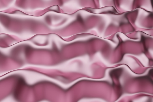 Metallic pink cloth texture abstract background.