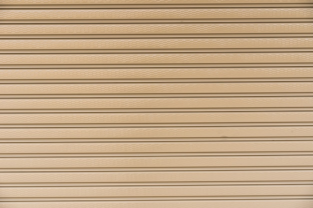 Metallic roller shutter door background background stripe