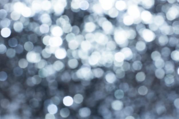 Metallic silver glitter background