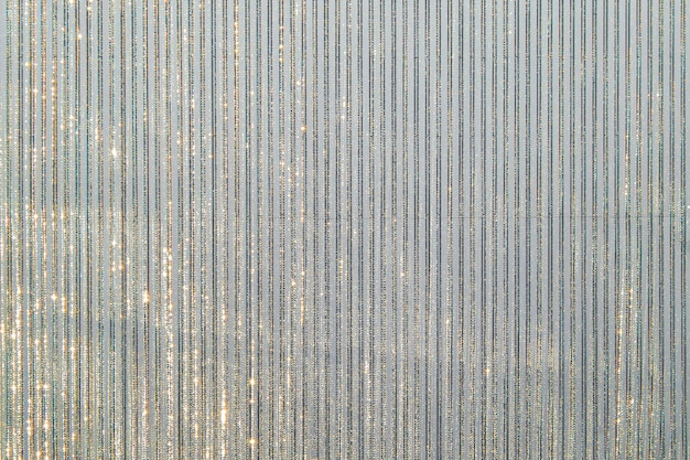 Metallic textile background