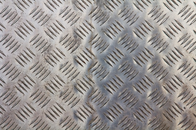 Metallic texture with geometric shapes