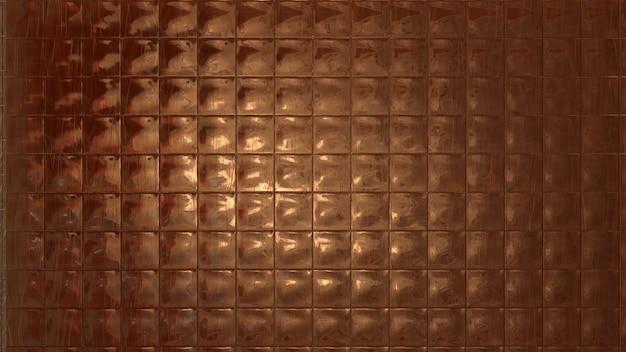 Metallic tiles texture background